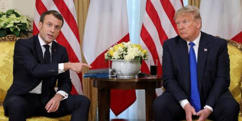 MacronAndTrump